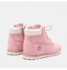 Chaussures Petit Enfant Pokey Pine 6-inch Side Zip - Rose nubuck