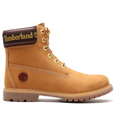 Boots Femme Timberland Icon 6-inch Leather And Fabric WP - Wheat Logo