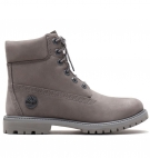 Boots Femme Timberland Icon 6-inch Waterproof Boot - Gris nubuck