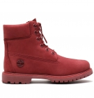 Boots Femme Timberland Icon 6-inch Waterproof Boot - Rouge foncé