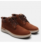 Chaussures Homme Timberland Cross Mark Plain Toe Chukka - Marron nubuck