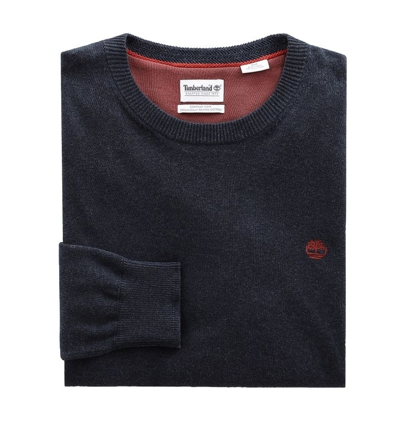 Pull Col Rond Homme Timberland Williams River Crew Coupe droite