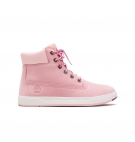 Chaussures Enfant Timberland Davis Square 6-inch Side Zip - Rose nubuck