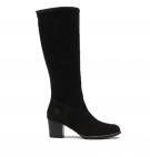 Bottes hautes Femme Timberland Eleonor Street Tall Boot - Noir nubuck