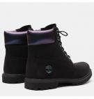 Boots Femme Timberland Premium 6-inch WP Boot - Noir nubuck et iris