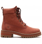 Bottines Femme Timberland Courmayeur Valley 6-inch Boot - Rouille nubuck