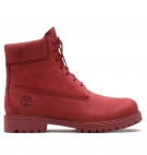 Boots Homme Timberland Heritage 6-inch WP Boot - Rouge foncé nubuck