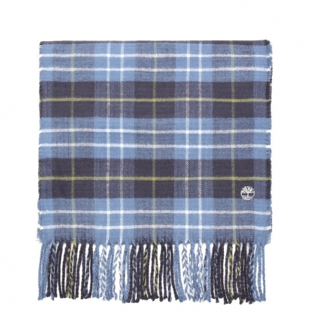 Écharpe Homme Timberland Plaid Scraf With Embroidered Gift Box