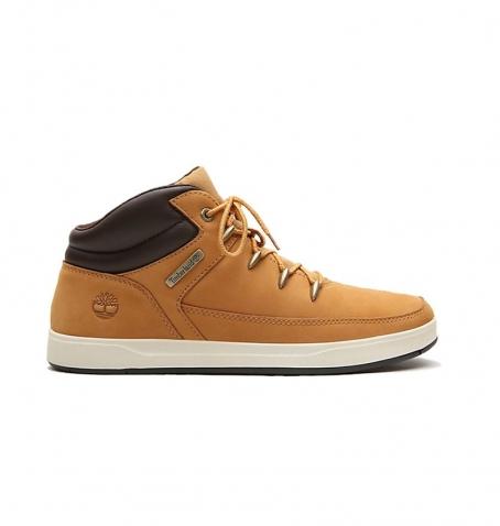 Chaussures Junior Timberland Davis Square Hiker - Wheat nubuck