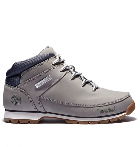 Chaussures Homme Timberland Euro Sprint Mid Hiker - Gris nubuck