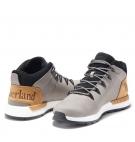 Chaussures Homme Timberland Sprint Trekker Mid - Gris nubuck et Blé