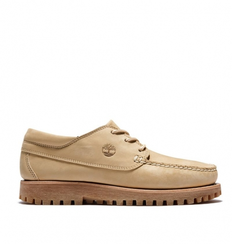 Chaussures Homme Timberland Jackson's Landing Moc Toe Oxford - Beige