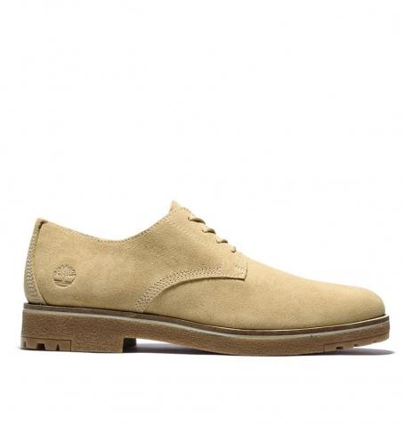 Chaussures Homme Timberland Folk Gentleman Oxford - Beige suédé