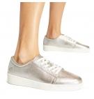 Chaussures Femme Timberland Teya Oxford - Argent pleine fleur