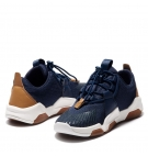 Chaussures Enfant Timberland Earth Rally Knit Oxford - Bleu marine