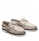 Chaussures Homme Timberland Classic Boat Shoe -Taupe nubuck