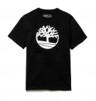 T-shirt Homme Timberland SS Kennebec River Brand Tree - Coupe droite