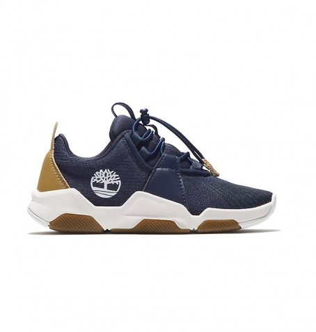 Chaussures Junior Timberland Earth Rally Knit Oxford - Bleu marine