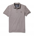 Polo Homme Timberland SS Millers River Collar Jacquard - Coupe Slim