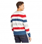 Pull Homme Timberland Beebe River Bold Stripes Sweater - Col Rond