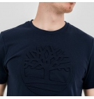 T-shirt Homme Timberland SS Mink Brook Elevated Embossed Tee