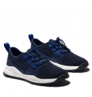 Chaussures Enfant Timberland Brooklyn Knit Oxford - Bleu marine