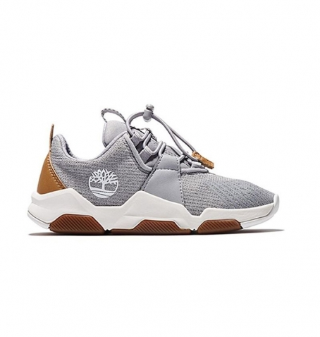 Chaussures Junior Timberland Earth Rally Knit Oxford - Gris tissu