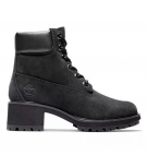 Bottines Femme Timberland Kinsley 6-inch WP Boot - Noir nubuck
