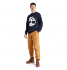 Sweat Col Rond Homme Timberland Core Tree Logo - Coupe droite