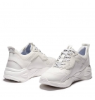 Chaussures Femme Timberland Delphiville Textile Sneaker - Blanc