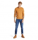 Pull Col Rond Homme Timberland Williams River Cotton - Coupe droite