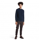 Pull Col rond Homme Timberland Beards Brook Cotton - Coupe droite