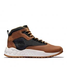 Chaussures Homme Timberland Solar Wave EK+ Mid - Marron grainé