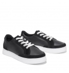 Chaussures Femme Timberland Atlanta Green Sneaker - Noir grainé