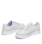 Chaussures Femme Timberland Atlanta Green Sneaker - Blanc grainé