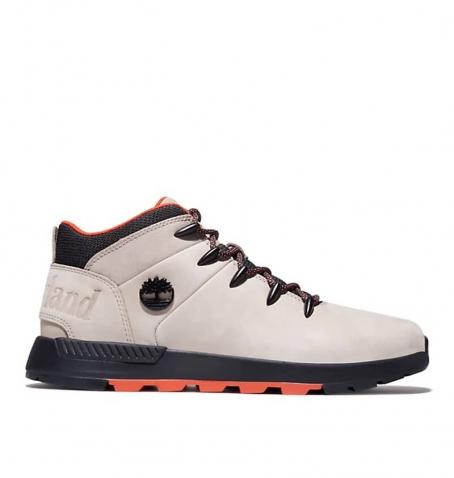 Chaussures Homme Timberland Sprint Trekker Mid - Beige nubuck
