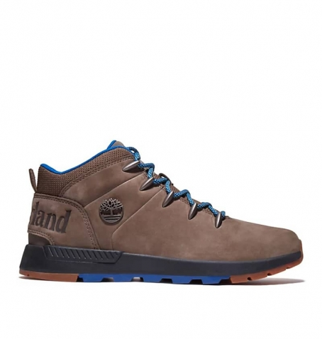 Chaussures Homme Timberland Sprint Trekker Mid - Marron nubuck