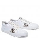 Chaussures Femme Timberland Skyla Bay Oxford - Blanc motifs Léopard