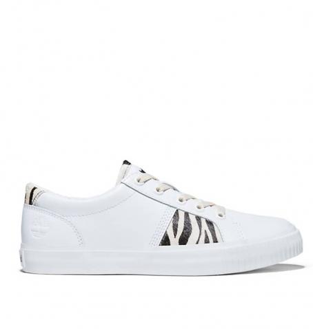 Chaussures Femme Timberland Skyla Bay Oxford - Blanc motifs Zèbre