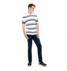 Polo Homme Timberland SS Zealand River YD Stripe - Coupe droite