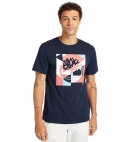T-shirt Homme Timberland SS Coastal Cool Graphic Logo Print - Coupe droite