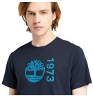 T-shirt Homme Timberland SS Recomfort 1973 Tree Chest Logo EK+