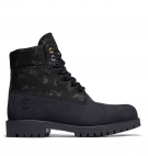 Boots Homme Timberland Heritage 6-inch WP Boot - Noir nubuck camouflage