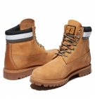 Boots Homme Timberland Heritage 6-inch WP Boot - Blé nubuck et collier noir