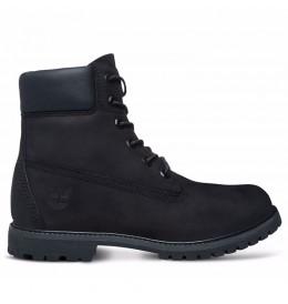 Boots Femme Timberland Icon 6-inch Premium - Black nubuck