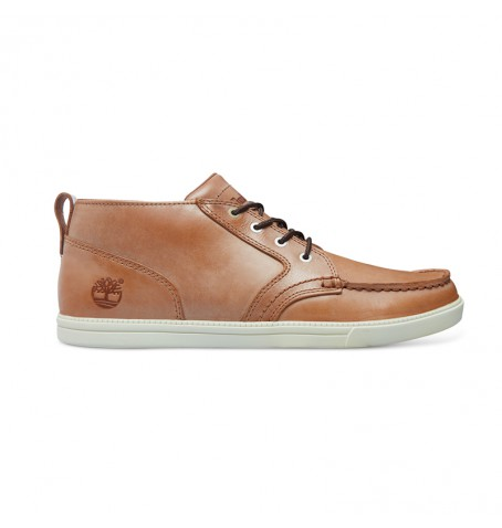 Timberland A12OP - Fulk Low Profile Chukka Moc Toe Leather Homme