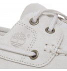 Chaussures Femme Timberland Lakeville 2-Eye Boat Shoe - Blanc