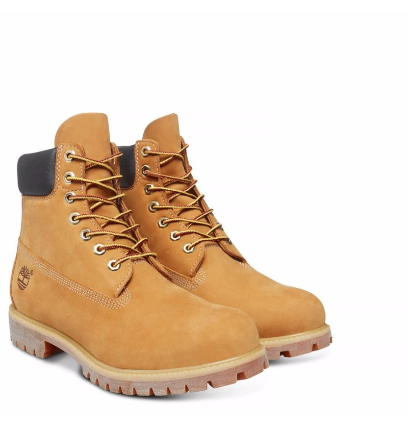 Timberland Icon 6-inch Premium Boot Homme - 10061 - Wheat 09964f6af446