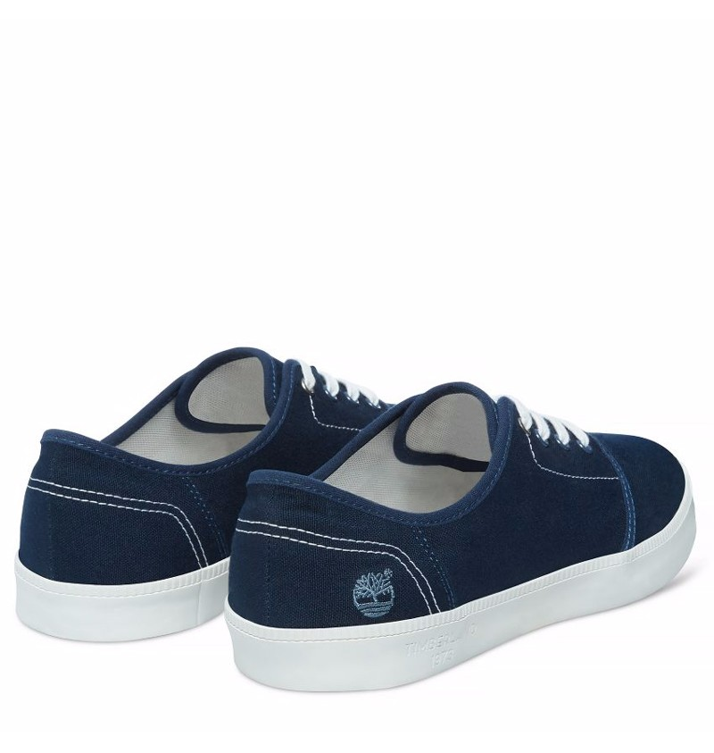 Chaussures Homme Timberland Newport Bay Canvas Plain Toe Oxford Navy canvas