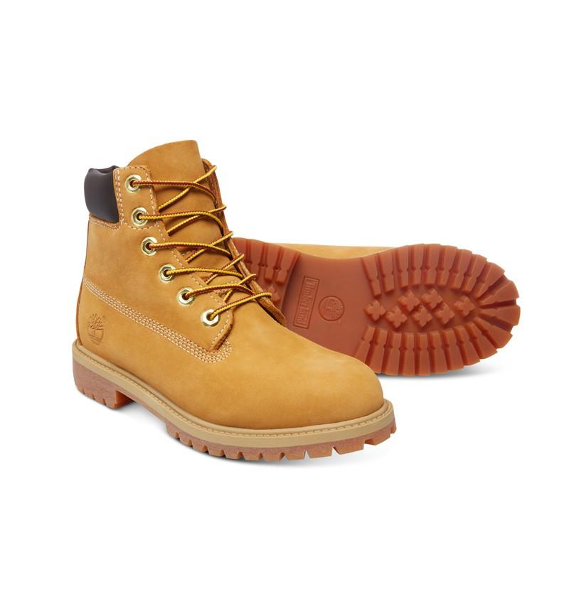 Timberland 6-inch Premium WP Boot Junior - 12909 - Wheat nubuck